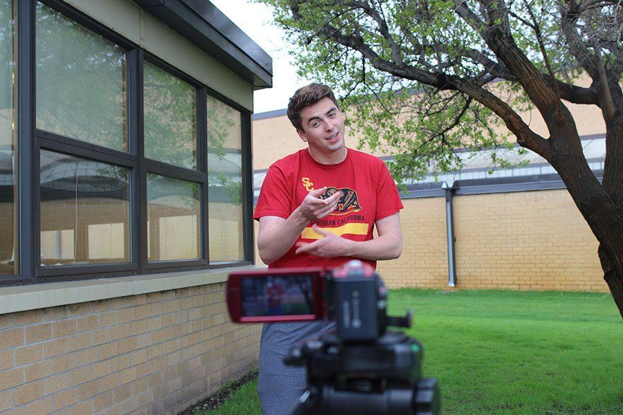 BSM's very own Peter McCague is a YouTube star. His channel Weird Music Records has over 12,000 views.