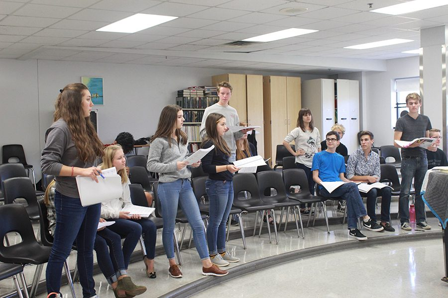 Students+begin+rehearsals+in+the+choir+room+practicing+their+vocals+for+the+upcoming+fall+musical%2C+%0D%0A%22The+Addams+Family.%22