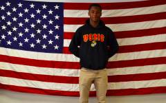 Senior joins the Marine Corps