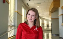 Junior Erin Lerch takes time once a week to volunteer with the Crisis Nursery.