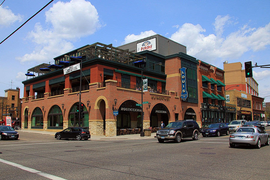 Cossetta's is a restaurant in downtown St. Paul that is well known for its Italian food and atmosphere.