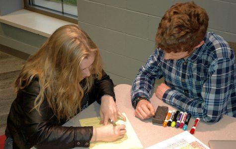 NHS tutors help students with homework