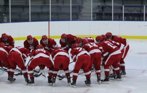 Boys' hockey looks to rebound after a disappointing season-ending loss to end last year.