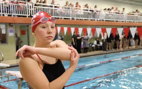 Senior Madison Semler is going on six years as an all-star swimmer