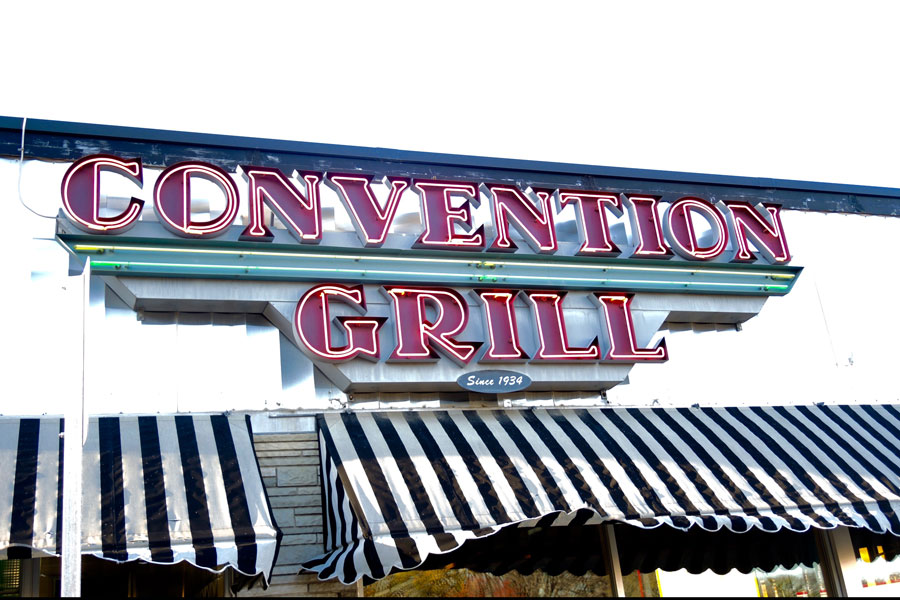 Both Convention Grill and The Malt Shop offer excellent burgers, shakes, and malts. The only question is which one is better?
