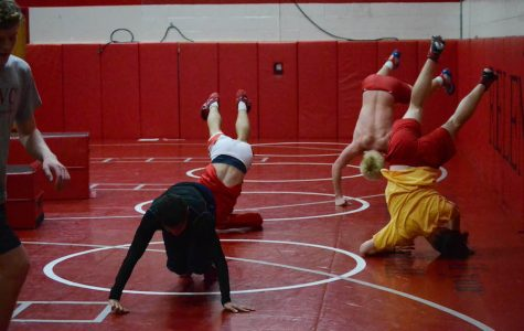 Wrestling looks to overcome loss of two key seniors with surprise trip to State