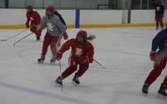 Doing killers is one of the exercises that the girls' hockey team does to be in the best shape they can to be win as many games as they can this season.
