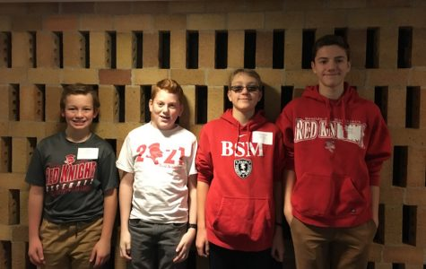 BSM attends local Catholic School's Quiz Bowl