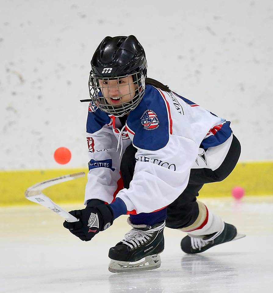 Senior Erin Patton has been playing bandy, a widely unknown sport, for years.