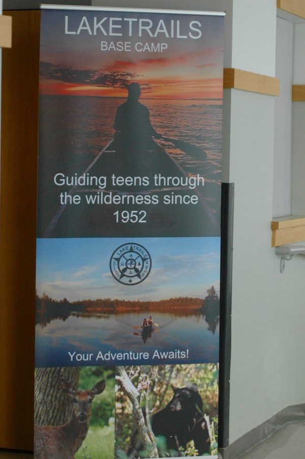The Eco-writing class allows students to read literature about the environment and then go out and experience nature. This culminates in a canoe trip in the Boundary Waters.