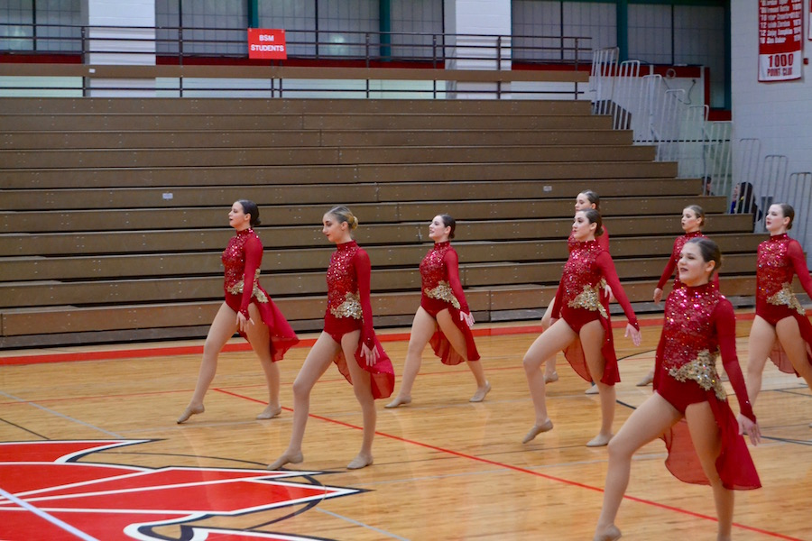 The Dance Team got 1st Place in Kick and 2nd Place in Jazz at the Metro West Conference Championships on January 10, and they next compete on January 28.A