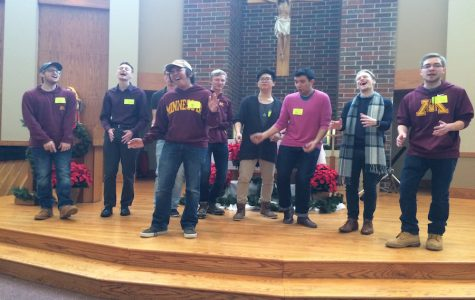 University of Minnesota a cappella group Basses Wild performs at BSM