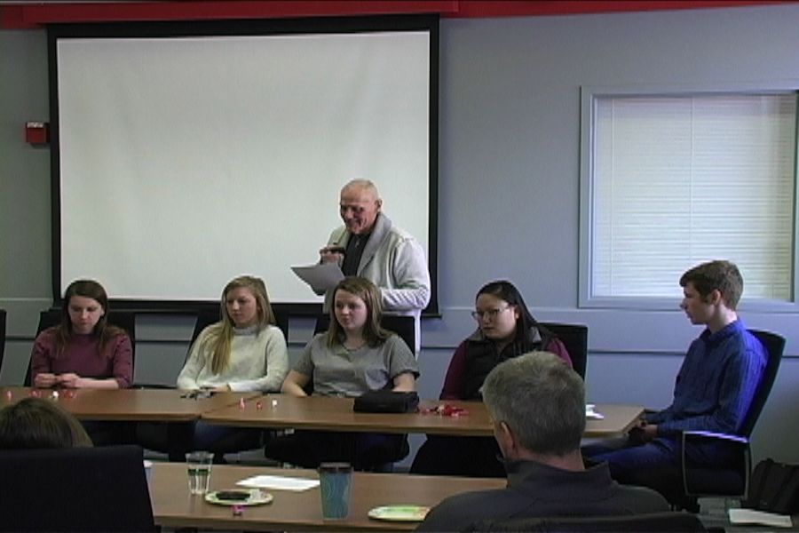 The panel speaks about how BSM has impacted their faith life.