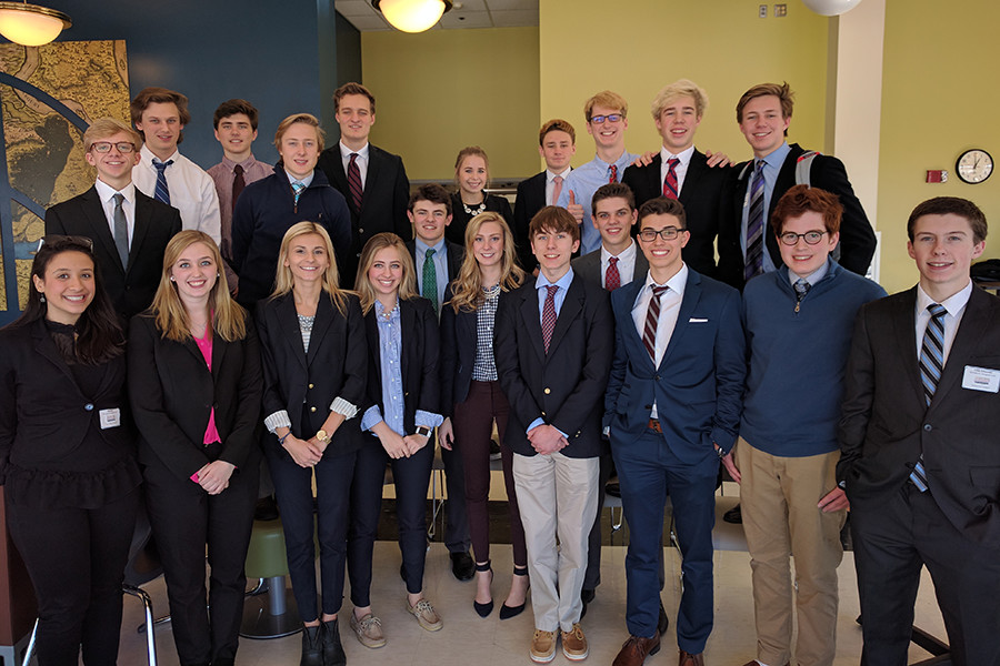 BSM's Business Professionals of America team went to Anoka Ramsey Community College for the regional competition. Eight members of the team qualified to continue towards the state competition.