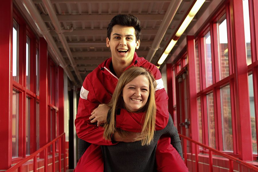 Mary Hoyt and Carson Jacobsen are bringing piggyback.