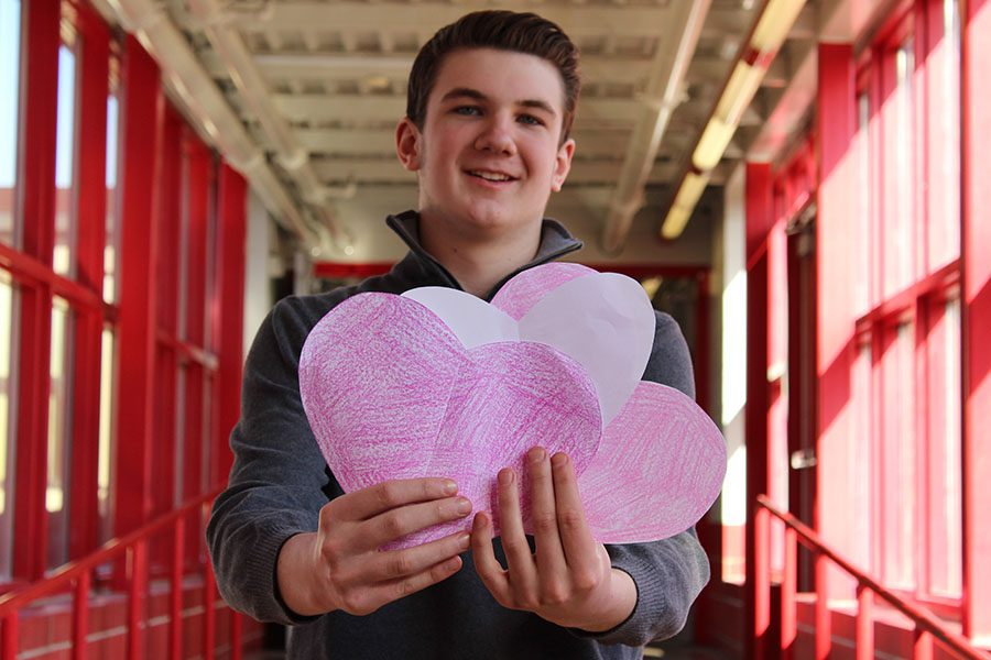 Sophomore Matt McGonigle would love to watch High School Musical with a date this Valentine's Day.