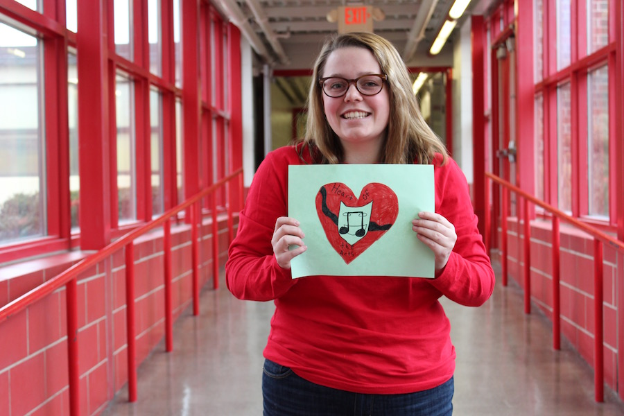 Senior Josie Ross was selected as Minnesota's nominee for the Heart of the Arts, a national award for recognizing those that exemplify good citizenship. Ross was selected from among a group of students and high school faculty members involved in the performing arts.