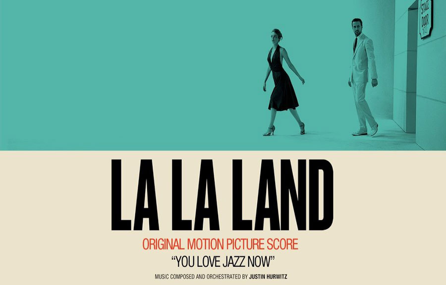 La-La-Land tells the story of an aspiring musician and actress in a jazz-themed Hollywood.