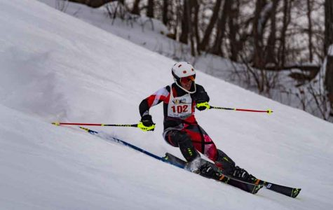 Alpine Ski team places in top 7 for boys and girls at Section 5 Meet, two skiers qualify for State