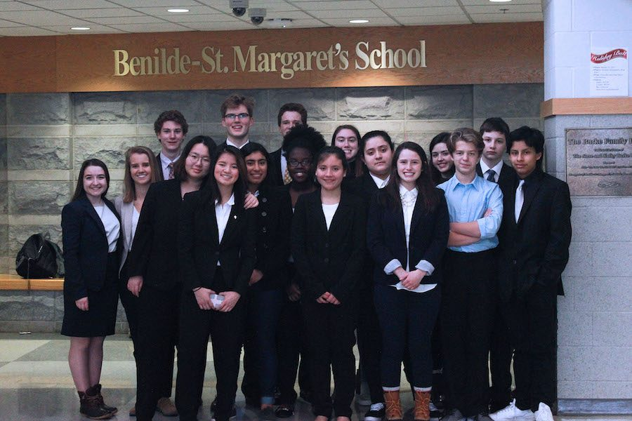 As the mock trial team enters their last competition before regionals, they prepare hard and long in practices to maximize performance.