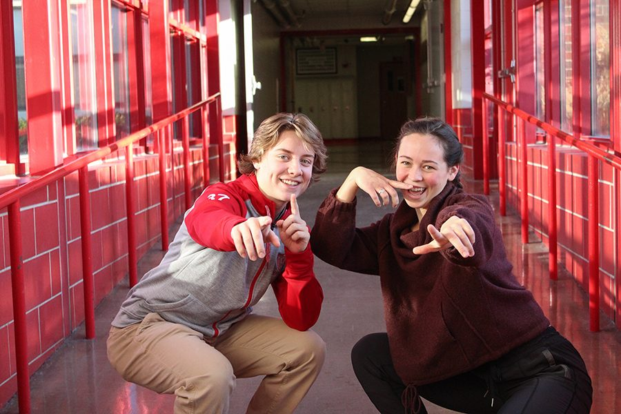 Sophomores Molly Paulison and Everett Palmer are middle school sweethearts who bond over a hatred for expensive trashy ice-cream. Ah, young love.