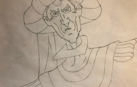 Ethan Lee expresses himself through drawing