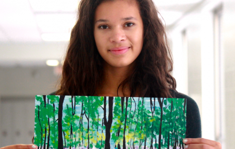 Maizy Jackson finds inspiration outdoors