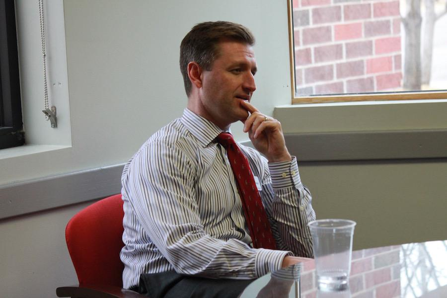 Dr. Adam Ehrmantraut returned to BSM this February as the new school President. He sat down with the Knight Errant to discuss the future of BSM.