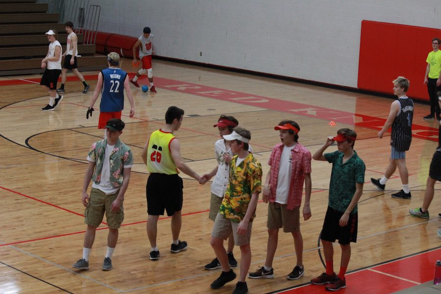 Students were able to enjoy friendly competition at the tournament.
