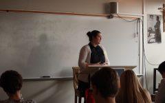 BSM alumnus speaks to Discipleship classes about volunteer work