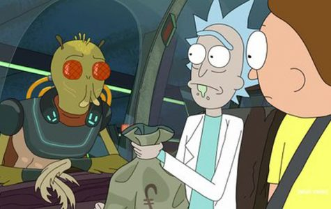 "Life is never dull on the hit Adult Swim comedy ""Rick and Morty"""