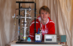 Junior builds a nuclear fusor in his free time