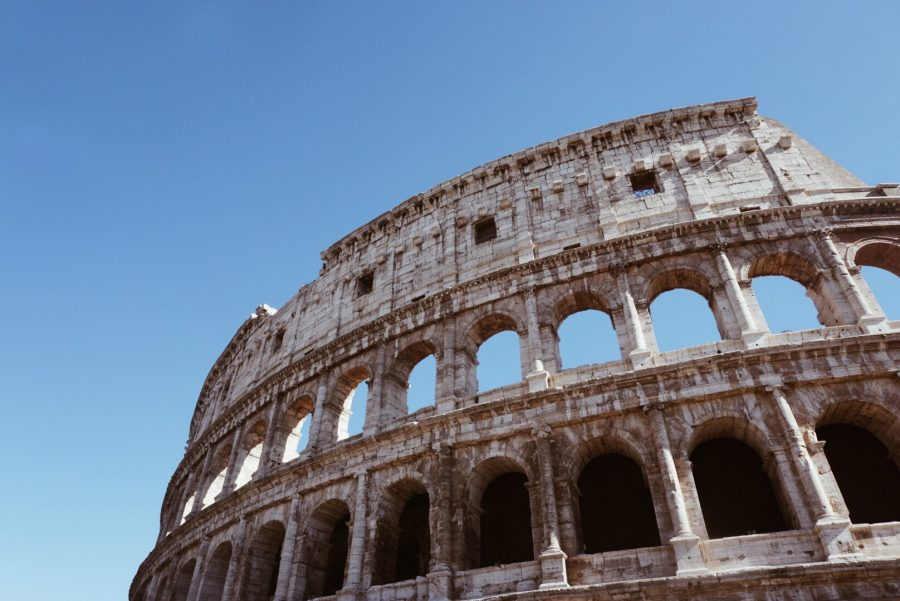 BSM+students+went+on+a+spring+break+trip+to+Italy%2C+and+they+visited+the+Colosseum.