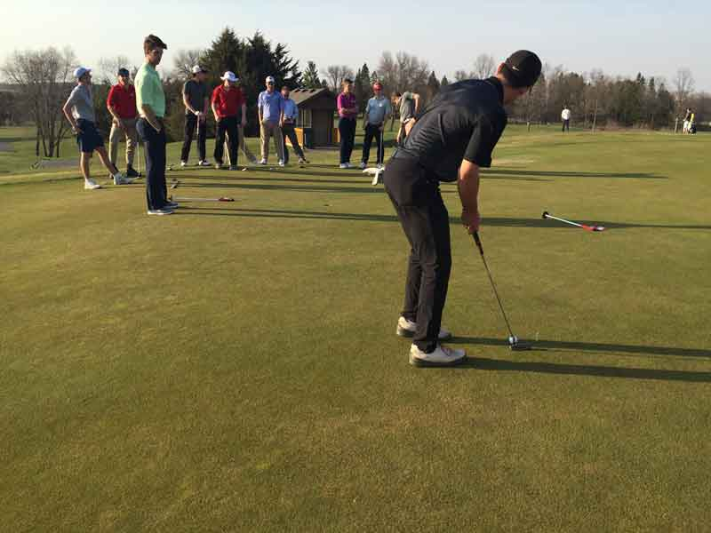 The BSM boys' golf team will need to have to work on all facets of their game, especially putting, in order to reach their full potential this season.