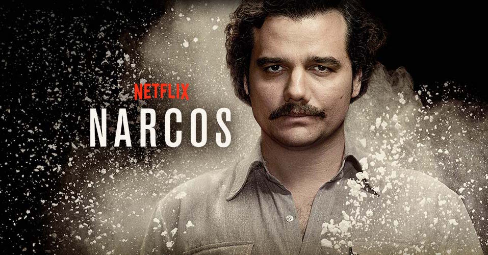 Narcos+tells+the+story+of+Pablo+Escobar%2C+the+notorious+drug+dealer+from+Columbia.