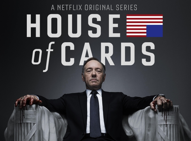 Kevin Spacey portrays the ambitious Frank Underwood, a man who will do anything to get his way.