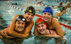 Girl's swim sent  five swimmers to state this year and the team placed  fifteenth overall in the state.