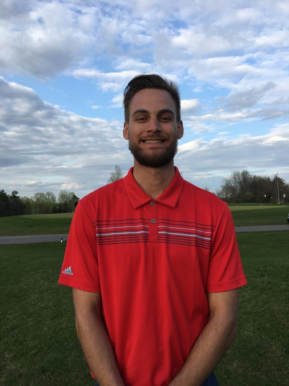 Head BSM boys' golf coach, Tyler Millis, is also a golf pro at Wayzata Country Club.
