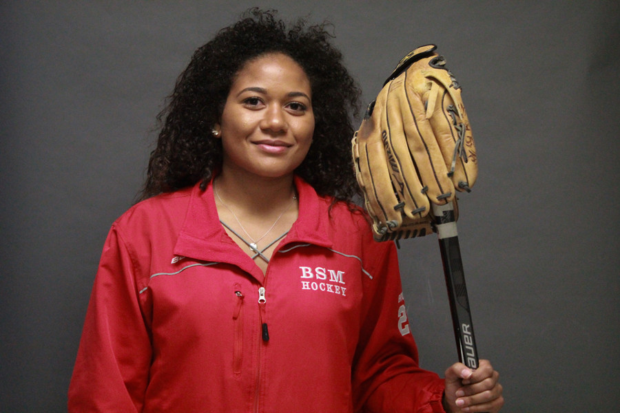 Sedona Brown spent her time at BSM playing softball and hockey and managing the football team, all while spreading her contagious laugh.
