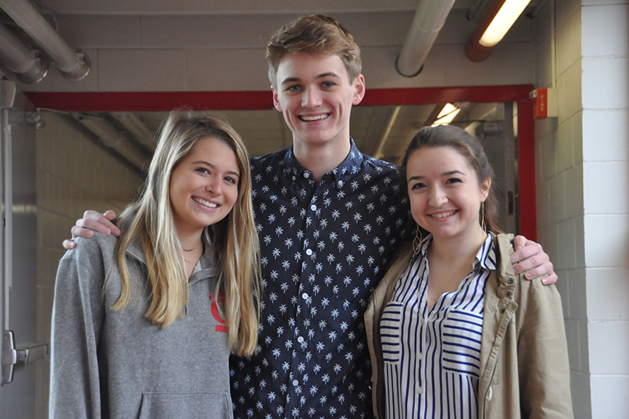 Brielle Baker, Carson Knoer and Maddie Turk all made it to the semi-final stage of the Spotlight competition.