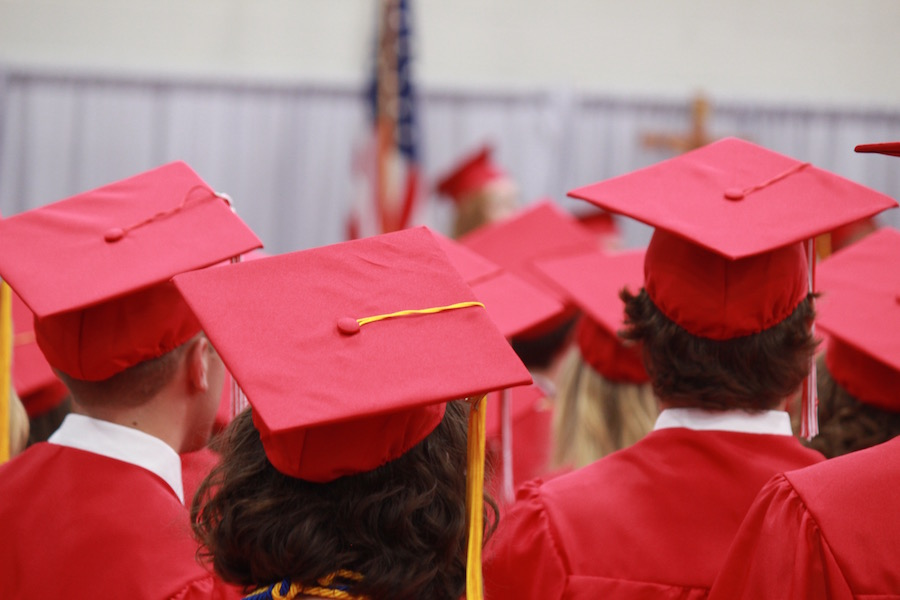 Graduation was held Friday, June 2, at the Haben Center.
