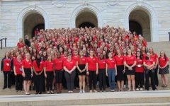 Many girls from around the state attended Girls State this summer.