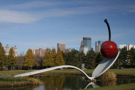 The Spoonbridge and Cherry is widely known across the Twin Cities