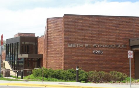 Michelle Obama speaks at Beth El Synagogue