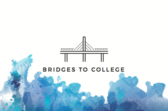 "Senior Noah Bridges runs his own business ""Bridges to College"""
