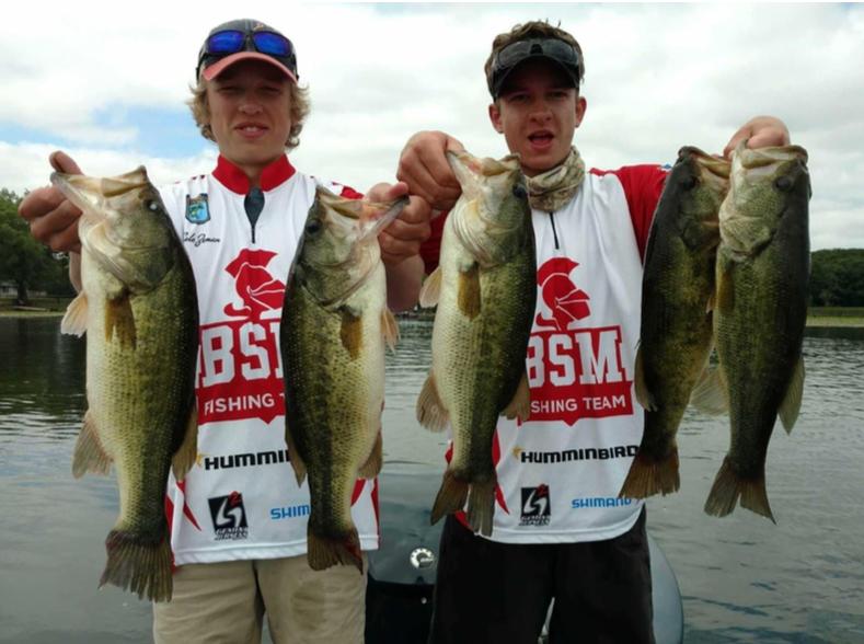 BSM's fishing club celebrates successful first season
