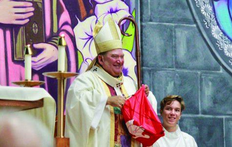 Archbishop Hebda installs Dr. Ehrmantraut as President of BSM