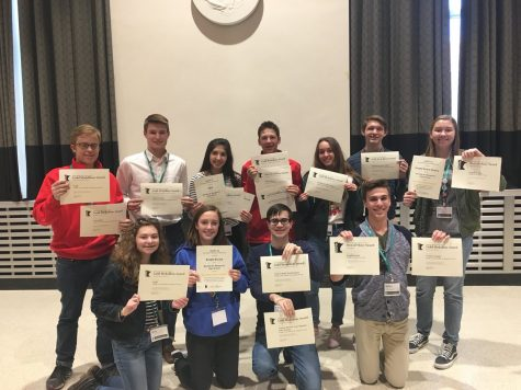 Knight Errant receives awards at Journalism Convention