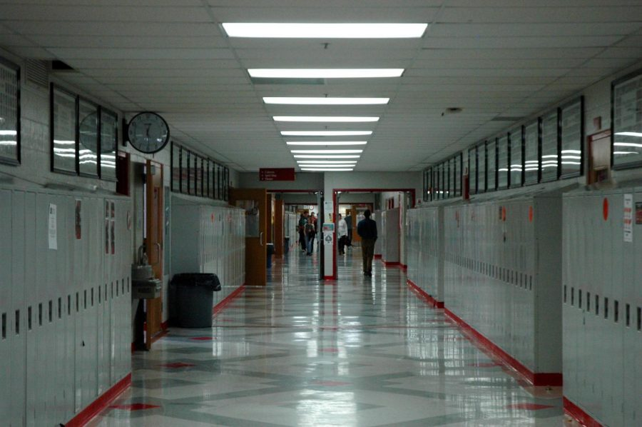 The old wellness sign-in sheet didn't tell the administration where the student was––it just said that the student was near the sheet once (or at least their friend who signed them in was) and then they could have been anywhere in the school. Even this hallway.