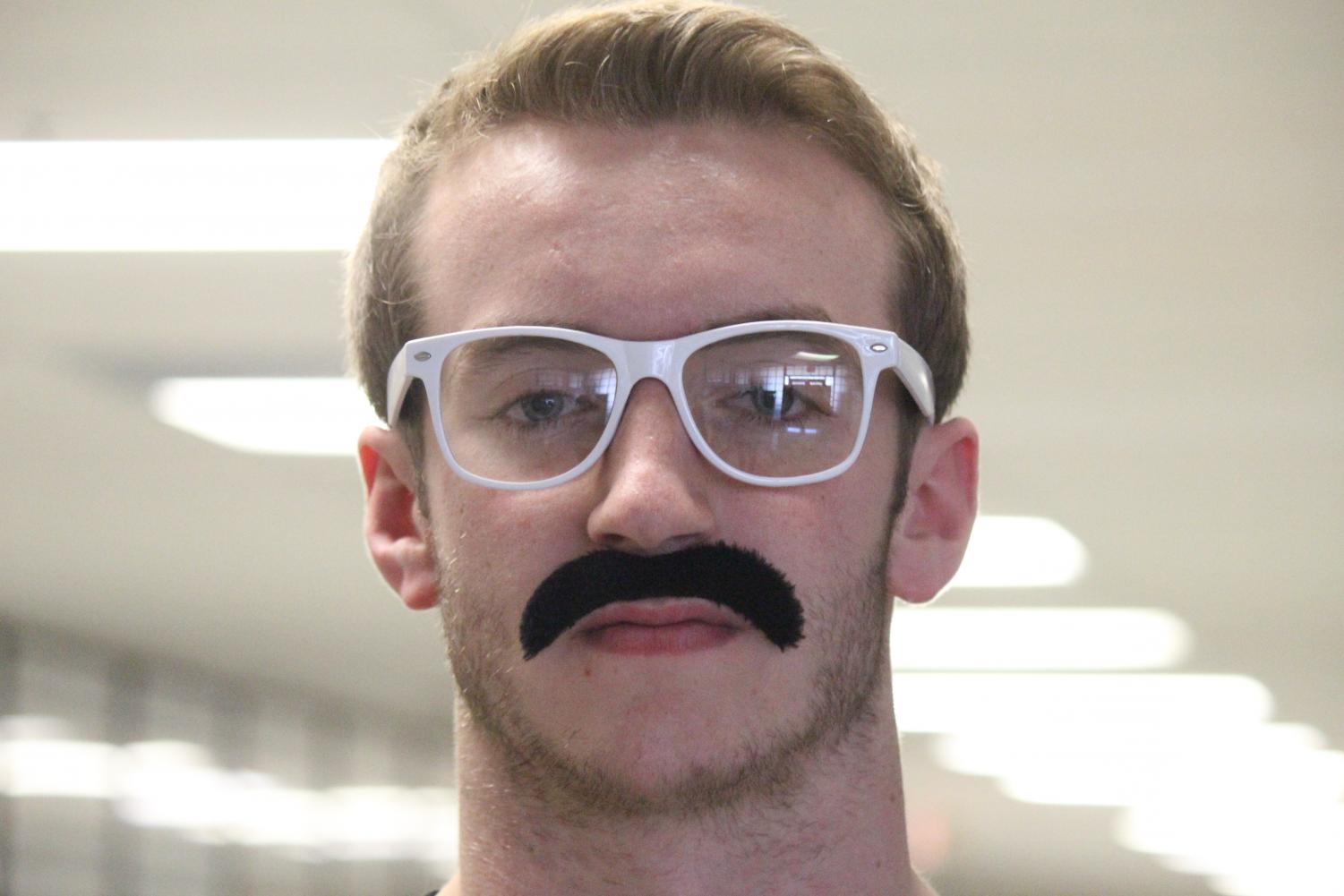 A mustache and glasses aren't the only things people hide behind.